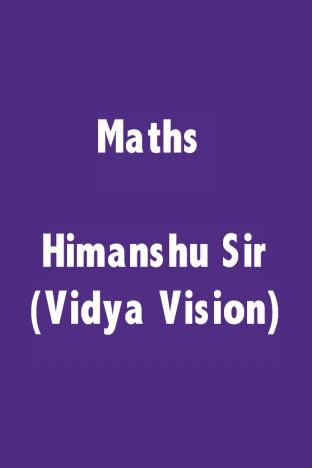 Maths Himanshu Sir