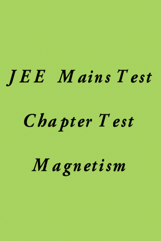 JEE Main Magnetism Test