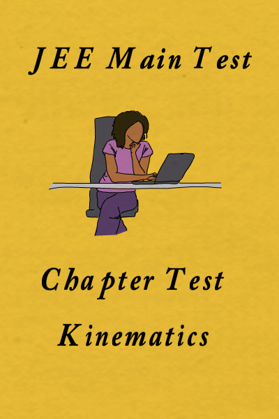 JEE Main Kinematics Test 1